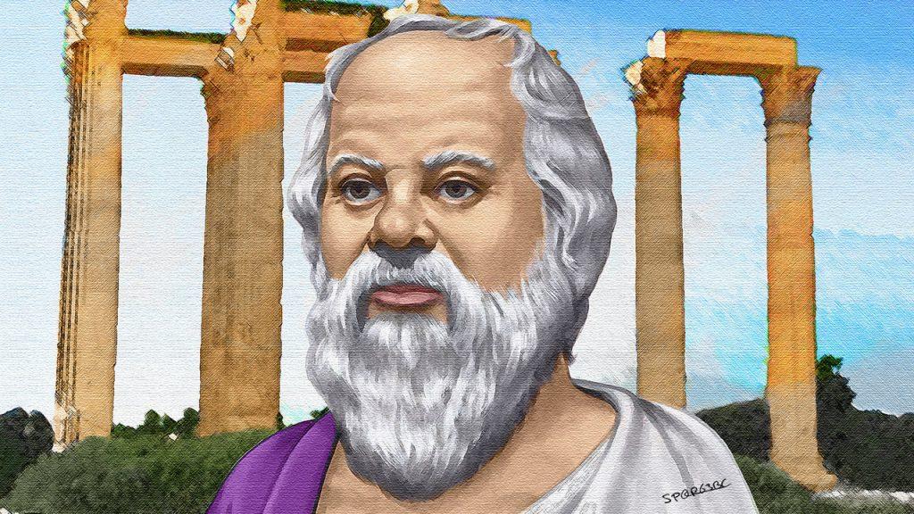 Философ Сократ. Притча про три сита.